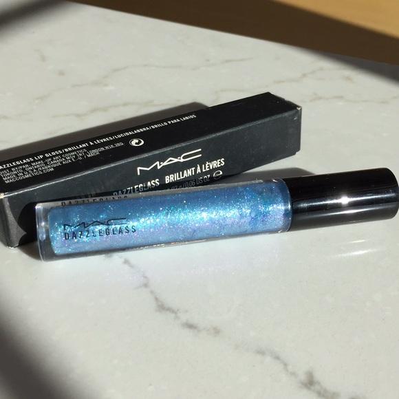 479621fa3c2c87 MAC  LIMITED EDITION  RARE COMET BLUE DAZZLEGLASS. NWT. MAC Cosmetics